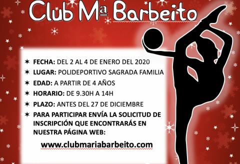 Escuela de Navidad Club María Barbeito